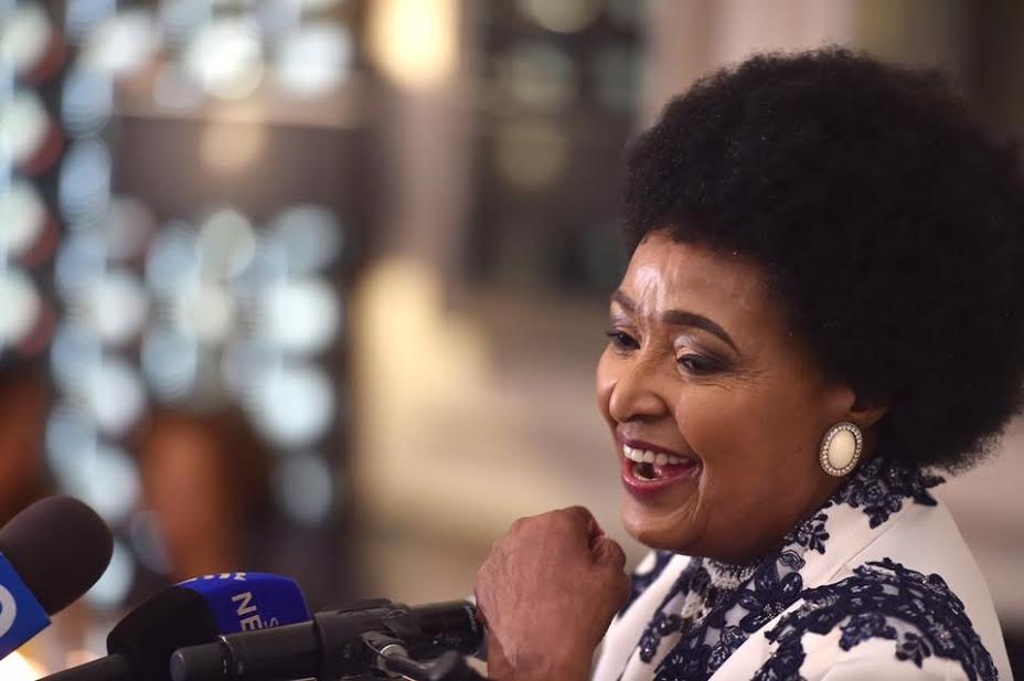 Winnie Mandela, september 2016