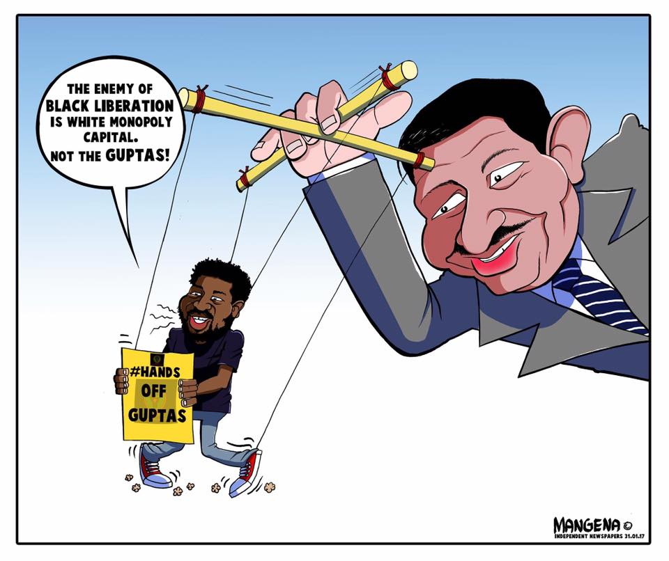 Cartoon: Mangena