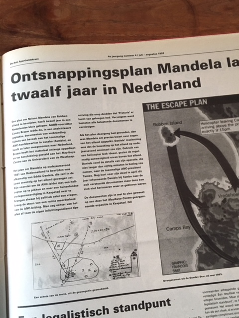 Bron: De Anti Apartheidskrant, juli/augustus 1993