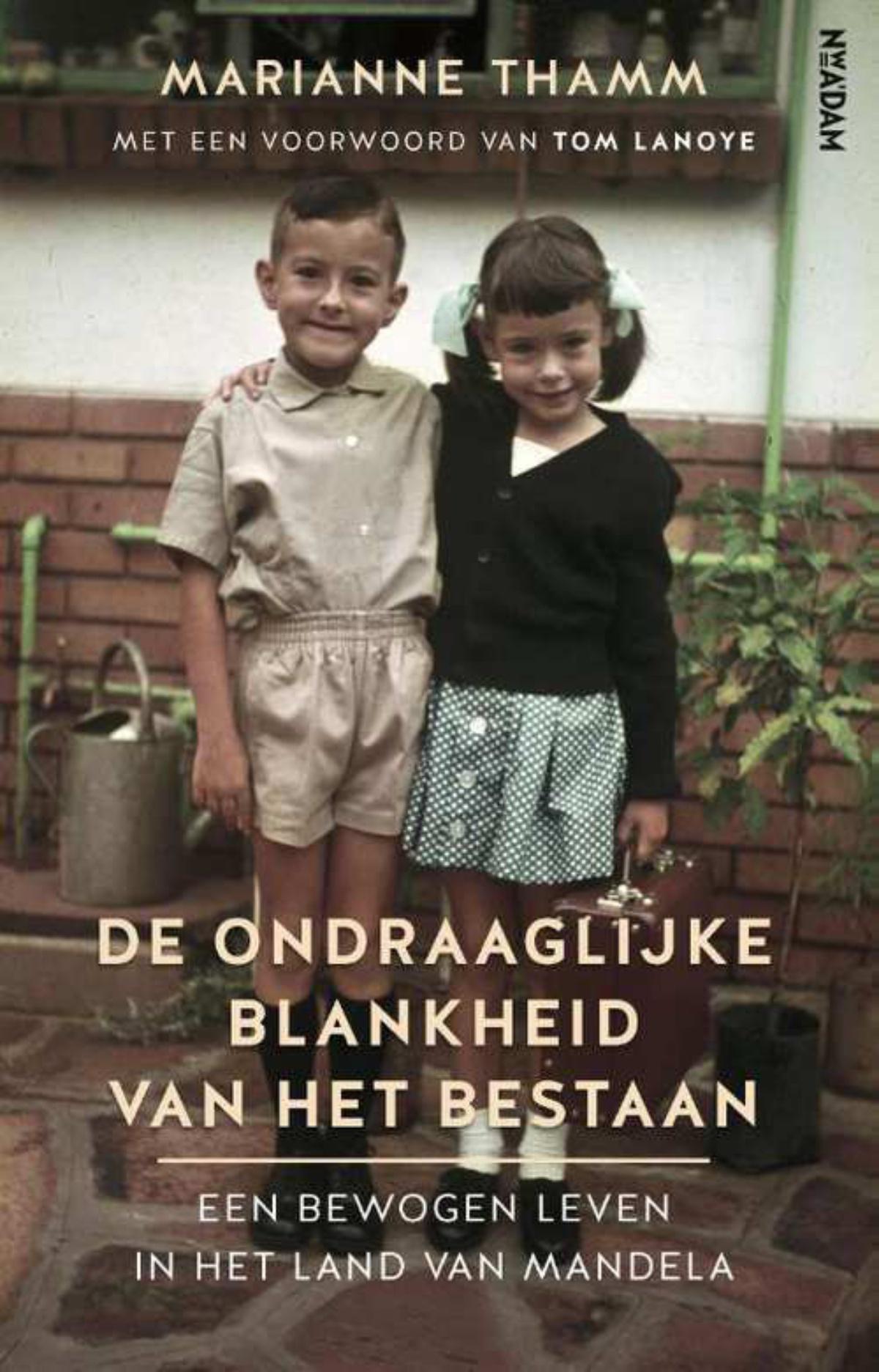 Cover boek, Uitgeverij Nieuw Amsterdam